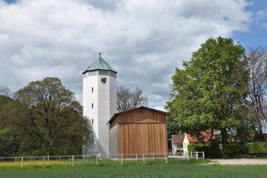 Wasserturm von Trunkelsberg Wahrzeichen